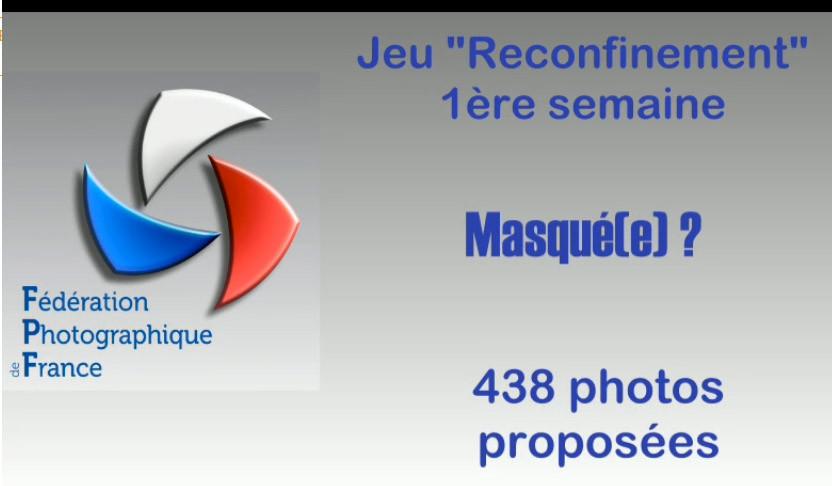 """Reconfinement#1 """"Masqué(e)"""""""