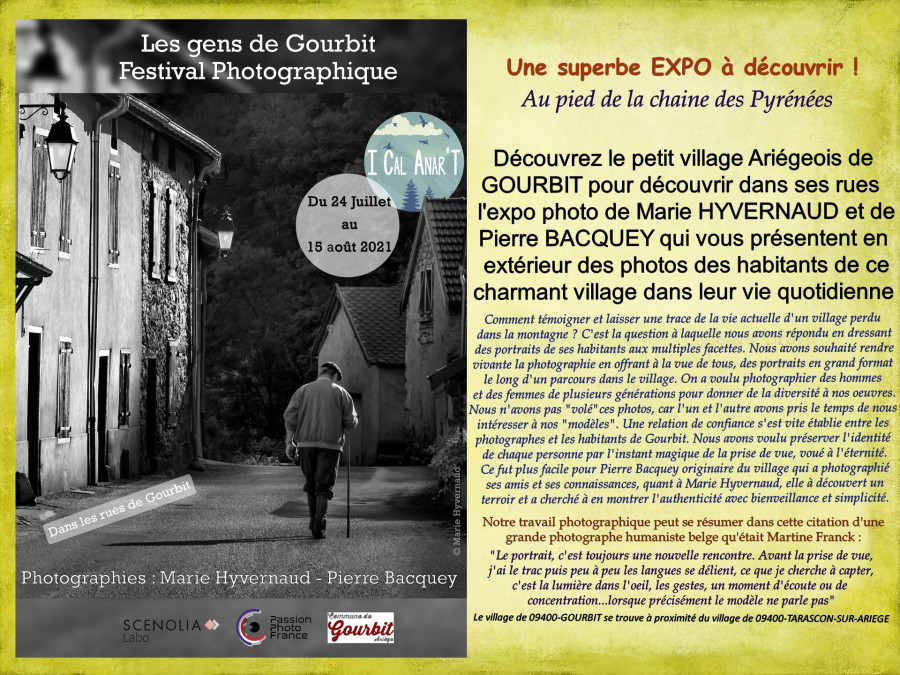 Expo - les gens de GOURBIT