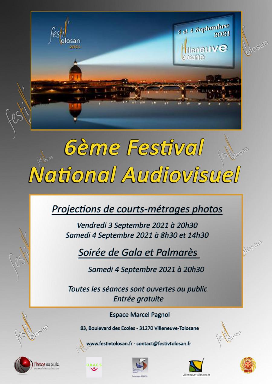 "6ème festival National Audiovisuel ""Festi'Tolosan"""